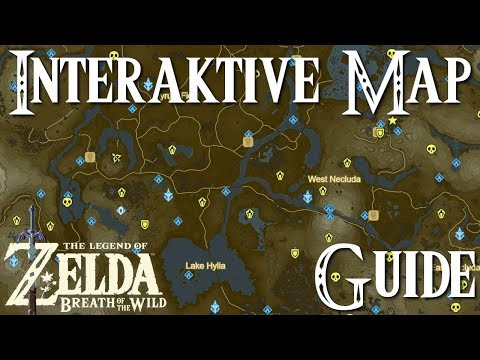 zelda breath of the wild interaktive karte