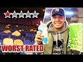 Going To The WORST Reviewed Movie Theater AND Watching The WORST Rated Movie Both Under 1 STAR mp3