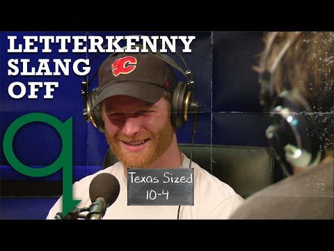 Jared Keeso of Letterkenny explains 10-ply and other slang