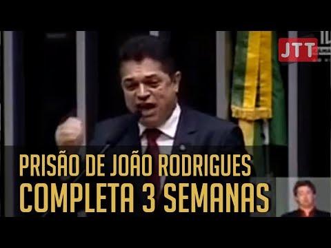 Prisão do deputado João Rodrigues (SC) completa 3 semanas