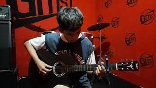 Gitar Akustik Taylor List Putih