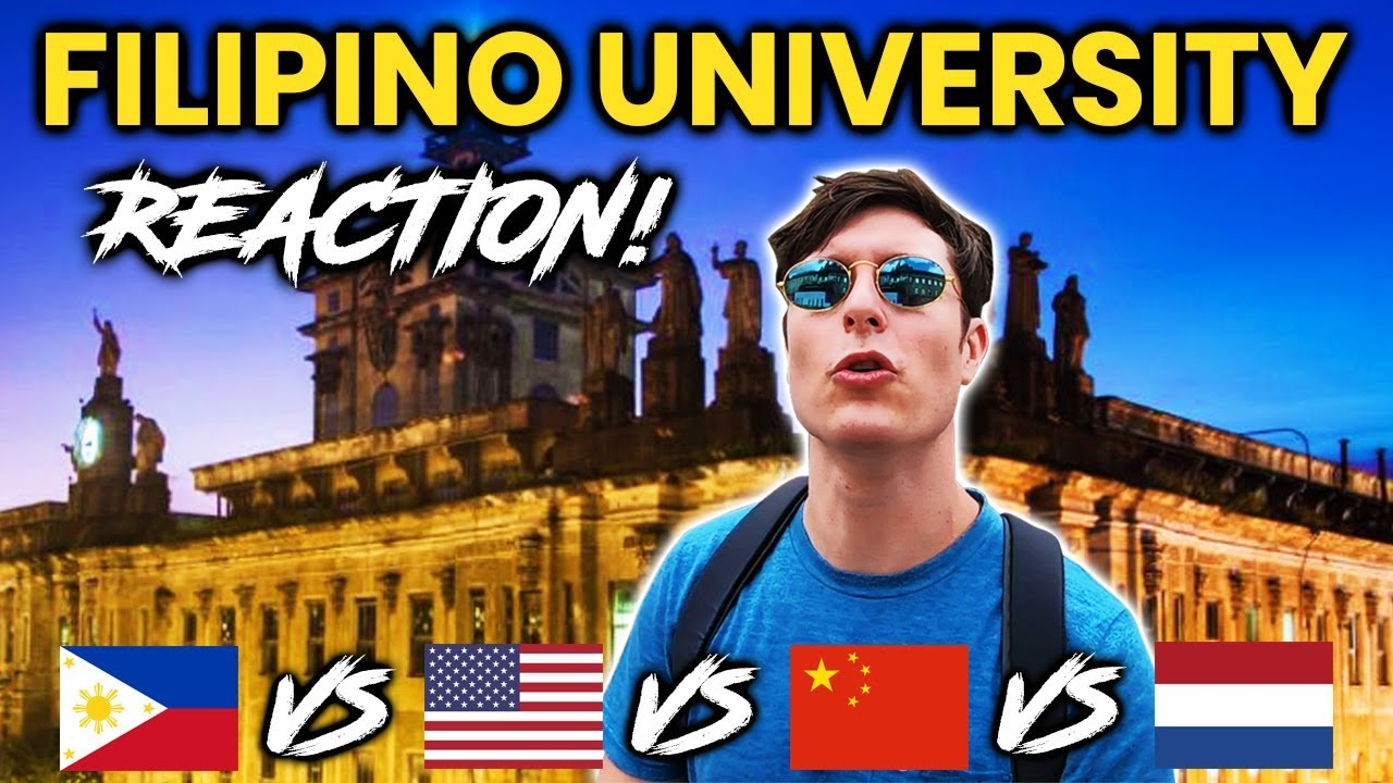 Download Foreigner Reacts to FILIPINO UNIVERSITY! University of Santo Tomas (UST)!