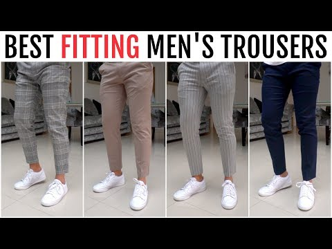 BEST FITTING TROUSERS FOR MEN 2020 | Menswear Essentials (River Island, Uniqlo, Bershka)