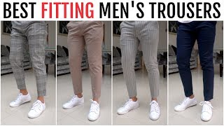 BEST FITTING TROUSERS FOR MEN 2020 | Menswear Essentials (River Island, Uniqlo, Bershka)