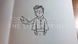 The Little Prince Speed/Time-Lapse Drawing
