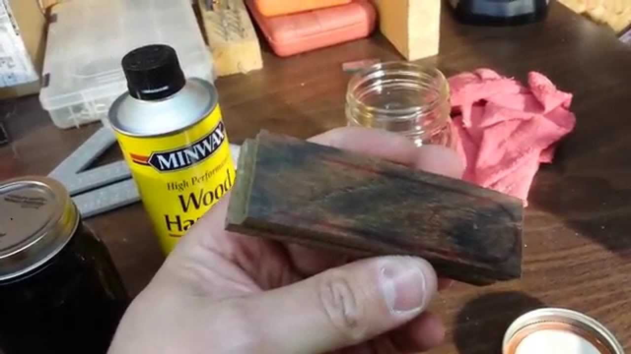Stabilizing Wood Knife Scales Youtube