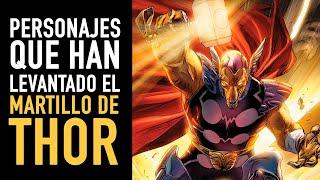 17 personajes que han levantado el martillo de Thor