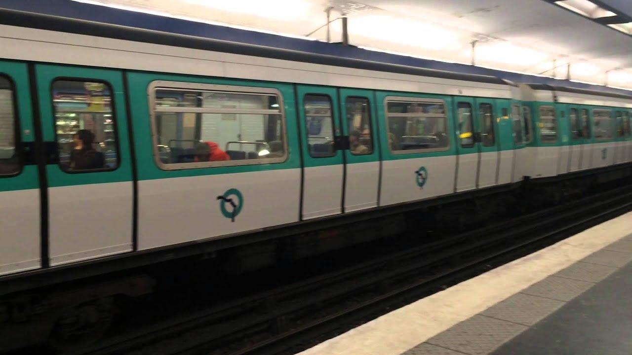 Paris Metro Tour, Métro de Paris, RER train, RATP, Paris Metro ...