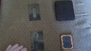 Daguerreotype and tintypes