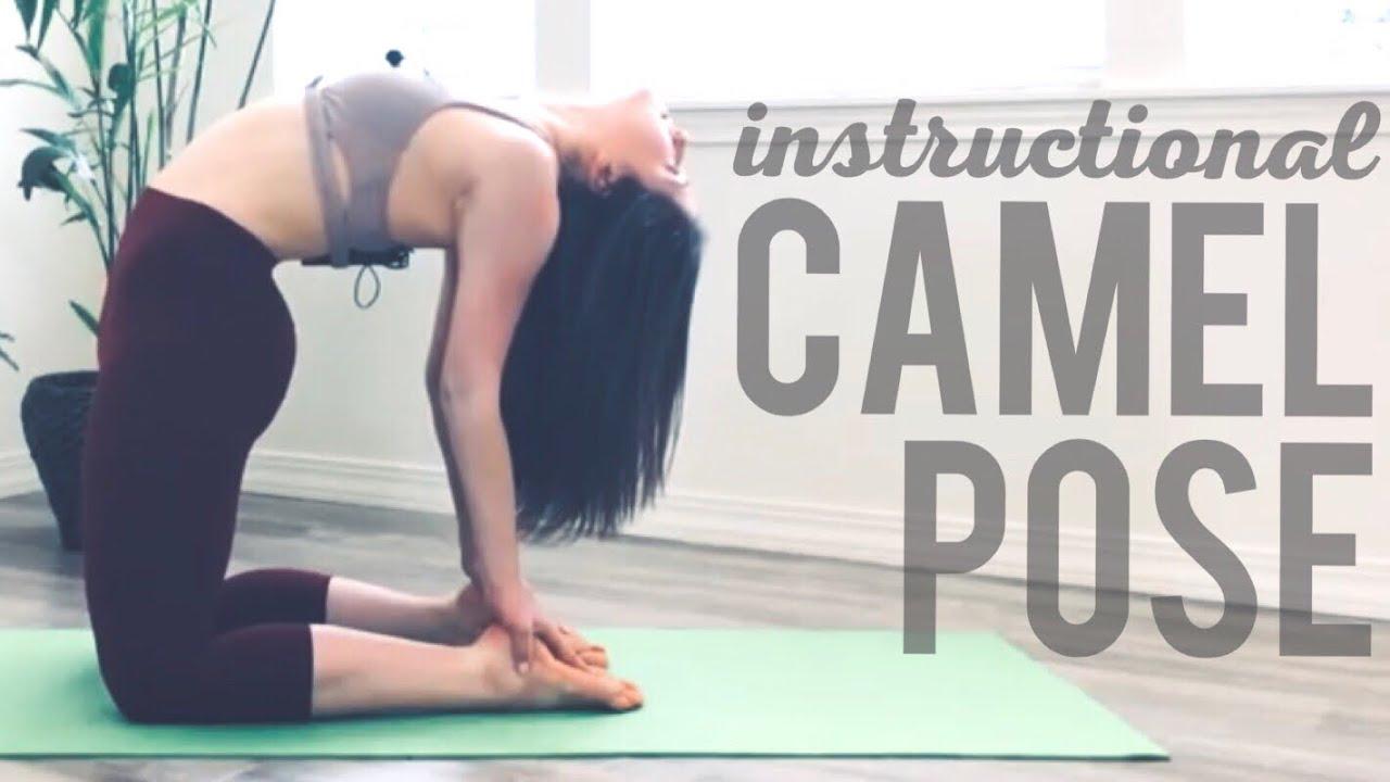 Yoga Instructional Camel Pose Youtube