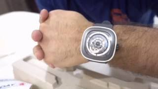sevenfriday p3 3 watch unboxing
