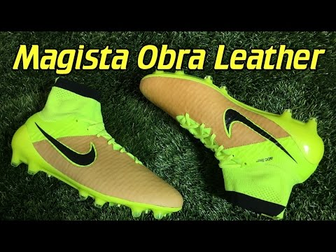 K-Leather Nike Magista Obra Tech Craft Canvas/Volt - Review + On Feet