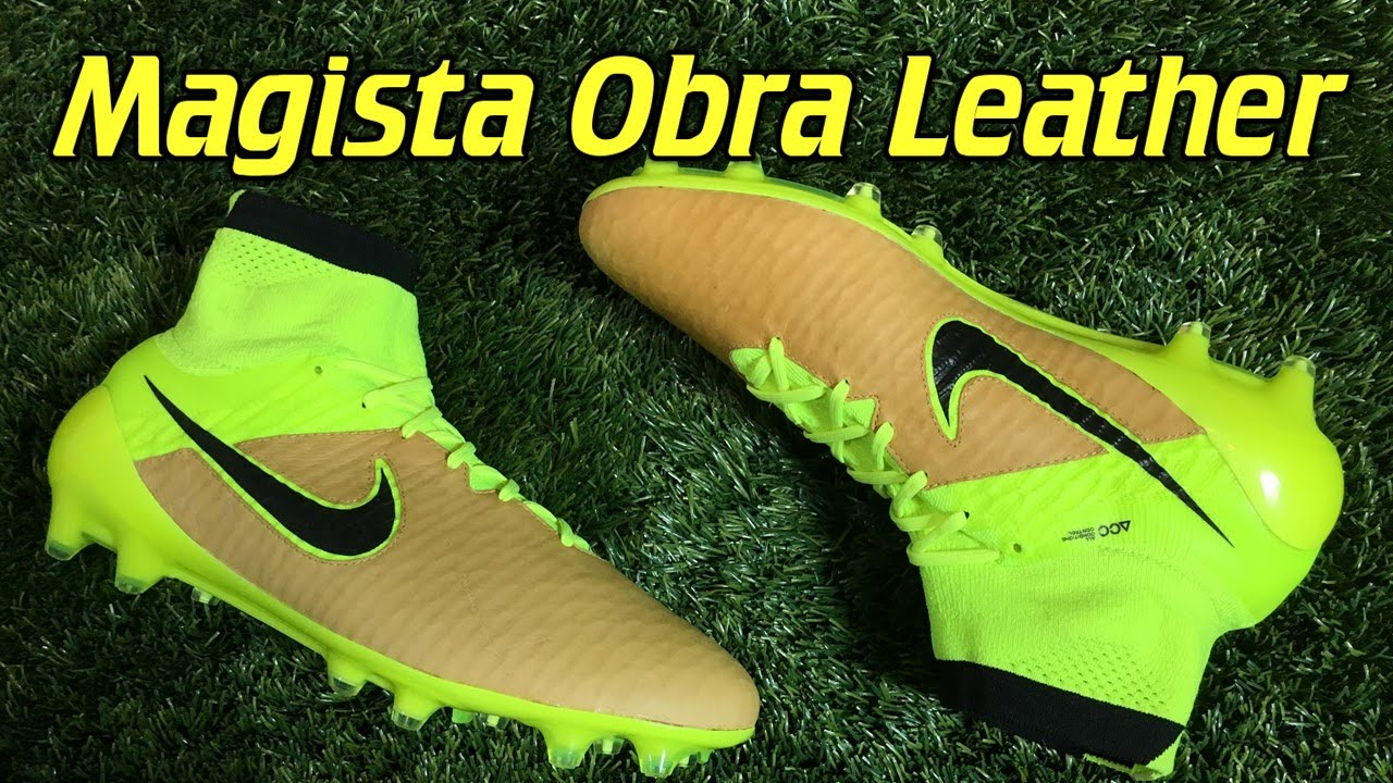 K-Leather Nike Magista Obra Tech Craft Canvas Volt - Review + On Feet -  YouTube 479a27e85