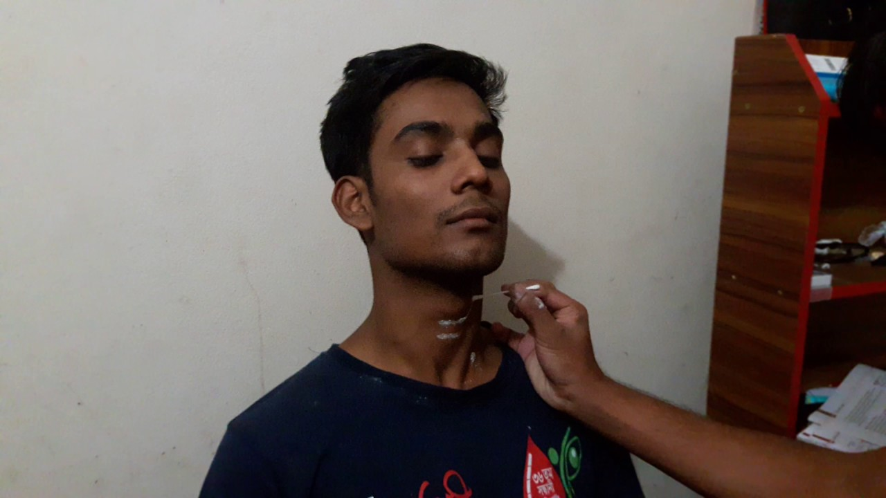 Surface marking of the thyroid gland - YouTube