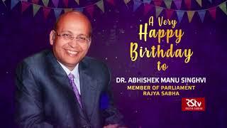 Birthday Wishes - Dr. Abhishek Manu Singhvi | 24 February, 2021