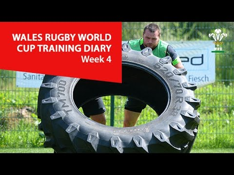 WEEK 4: Wales Rugby World Cup Training Diary | WRU TV