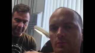 Frank van Etten en Marcel Doms Doms Tattoo