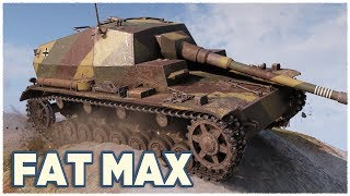 Dicker Max • GERMAN TERROR FROM THE BUSHES • WoT Gameplay