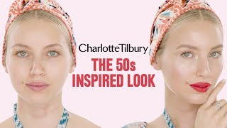 Alice Temperley 50's inspired makeup tutorial | Charlotte Tilbury