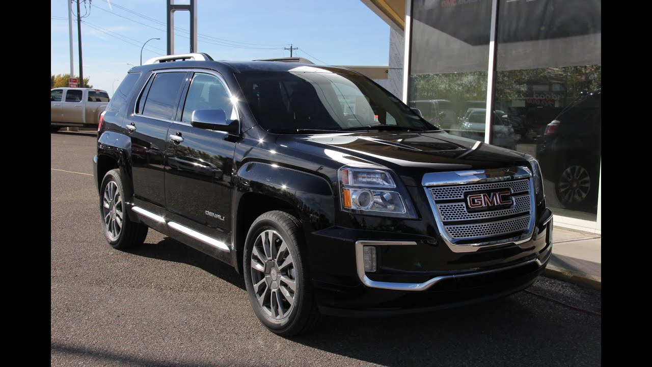 Brand New 2016 Gmc Terrain Denali For Sale In Medicine Hat