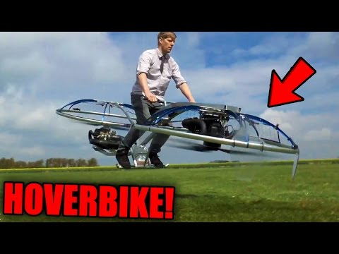 Thumbnail: Top 10 MOST INSANE Things Youtubers Invented! (Working Hoverbike, Jet-Kart & More)