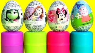 Surpresas Mashems e Fashems Princesinha Sofia Minnie Peppa Pig em Portugues BR Brasil Toys