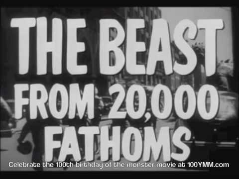 The Beast from 20,000 Fathoms is listed (or ranked) 40 on the list The Best Monster Movies