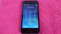 How To: Remove Forgotten PASSCODE iPhone 5S & 5C | iPad Mini iOS | Bypass Password | Unlock Tutorial