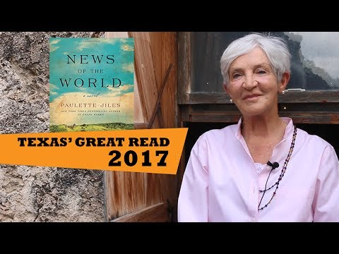 Paulette Jiles's News of the World Chosen as Texas' Great Read 2017