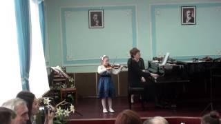София Завалко, скрипка, 6,5 лет
