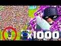 1000 İSKELET VS 1 CELLAT !! (İNANILMAZ) - CLASH ROYALE