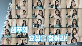 2019 Miss Korea Camp 샴푸의 요정을 찾…