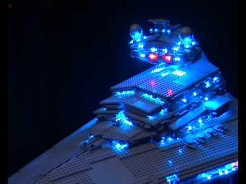 Lego star wars imperial star destroyer 10030 iilluminated youtube - Croiseur interstellaire star wars lego ...