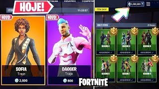 V-BUCKS INFINITOS, SOFIA TODAY and BATTLE PASS IN the FORTNITE STORE!