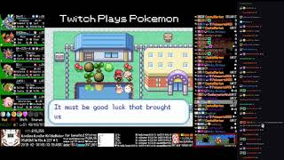 Twitch Plays Pokémon Anniversary Burning Red - Hour 124 to 125