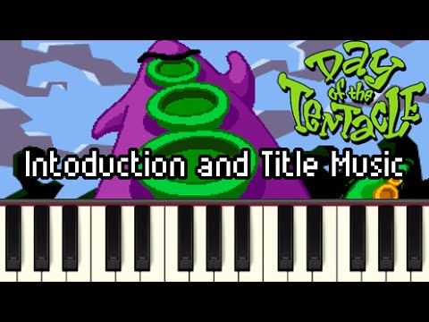 Introduction and Title Music - Day of the Tentacle [Synthesia]