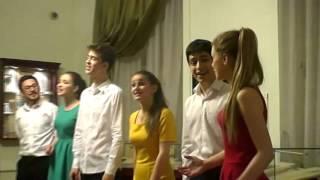 Песня Александра в исполнении студентов ГИТИСА + текст песни
