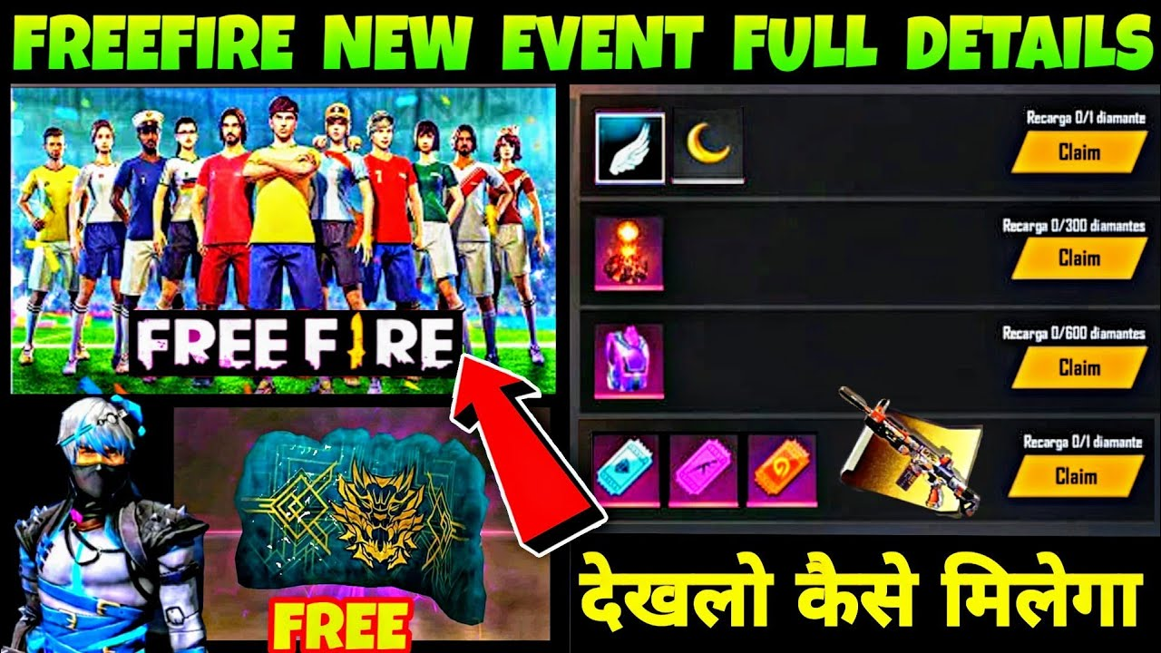 Freefire New Event Summer Holidays Booyah Ramadan Details Free Fire New Upcoming Free Events Youtube