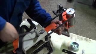 Насадка-короед (окариватель) для бензопилы, установка и работа(, 2015-12-02T10:20:50.000Z)