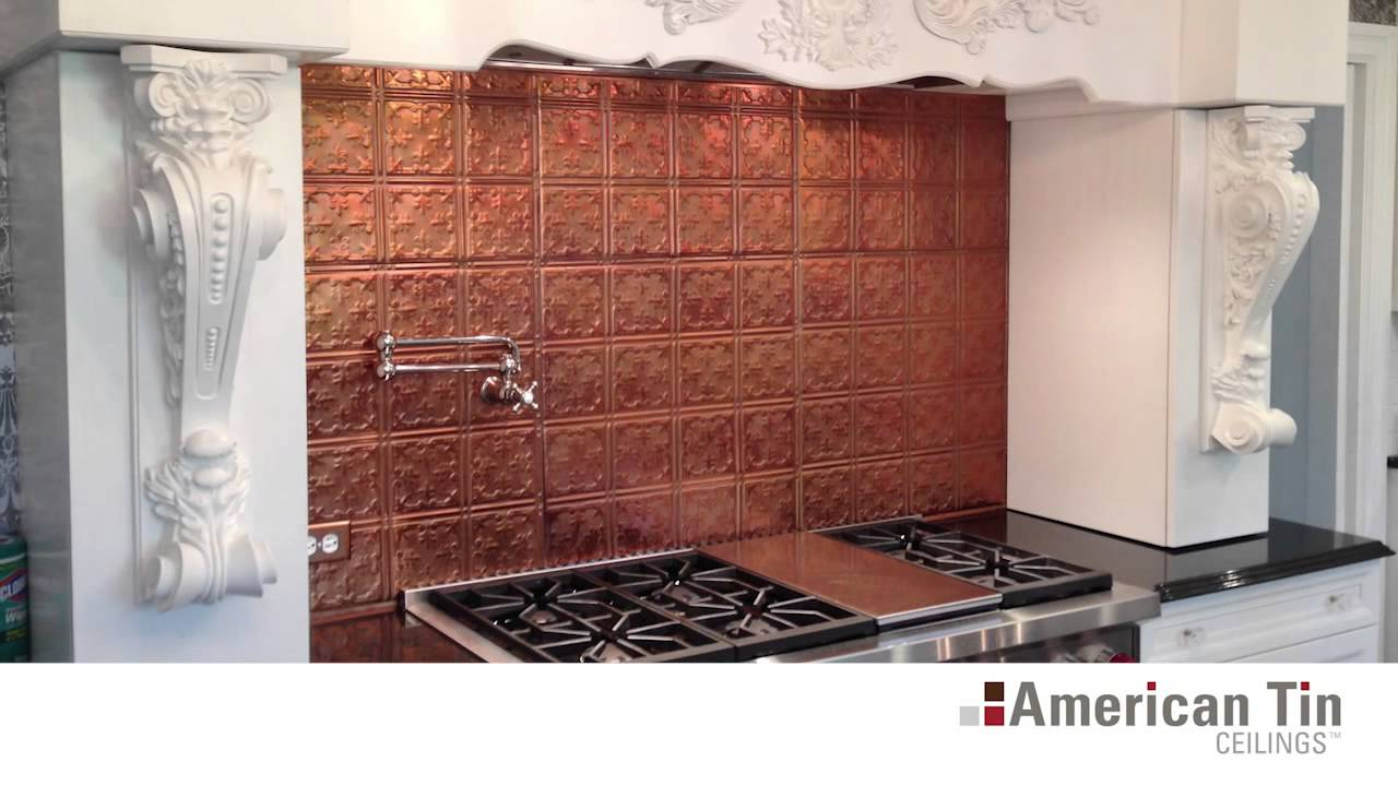Diy tin ceiling tiles overview american tin ceilings youtube doublecrazyfo Images