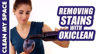 Removing Stains with OxiClean! (Clean My Space) Thumbnail