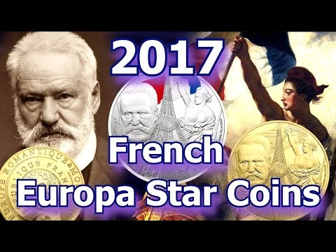 2017 French EuropaStar Gold & Silver Coins
