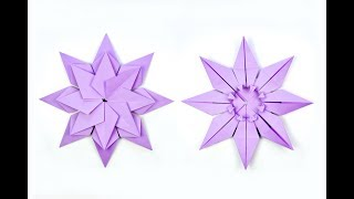 How to make Origami Star | DIY Paper Craft Ideas