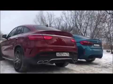Mercedes GLE 63 AMG s Couple vs BMW X6 M-Power - Exhaust Sound Test !! (LOUD)