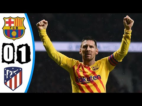 Barcelona VS Atletico Madrid 1:0 ~ Goals & Highlights Goles Y Resumen 2019 HD