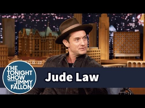 Jude Law Brings Back Wide-Legged Pants
