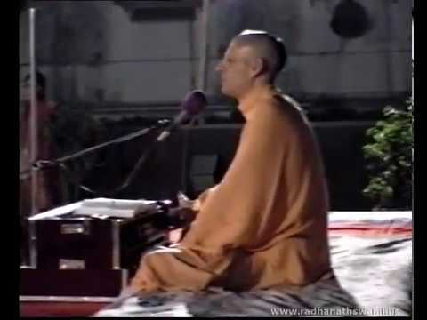 Radhanath Swami with his Parents at Piramal's Residence - Part 04