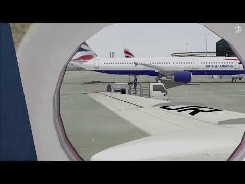 ✈ Tupolev Tu-134 Air Ukraine Flight: LHR - KBP