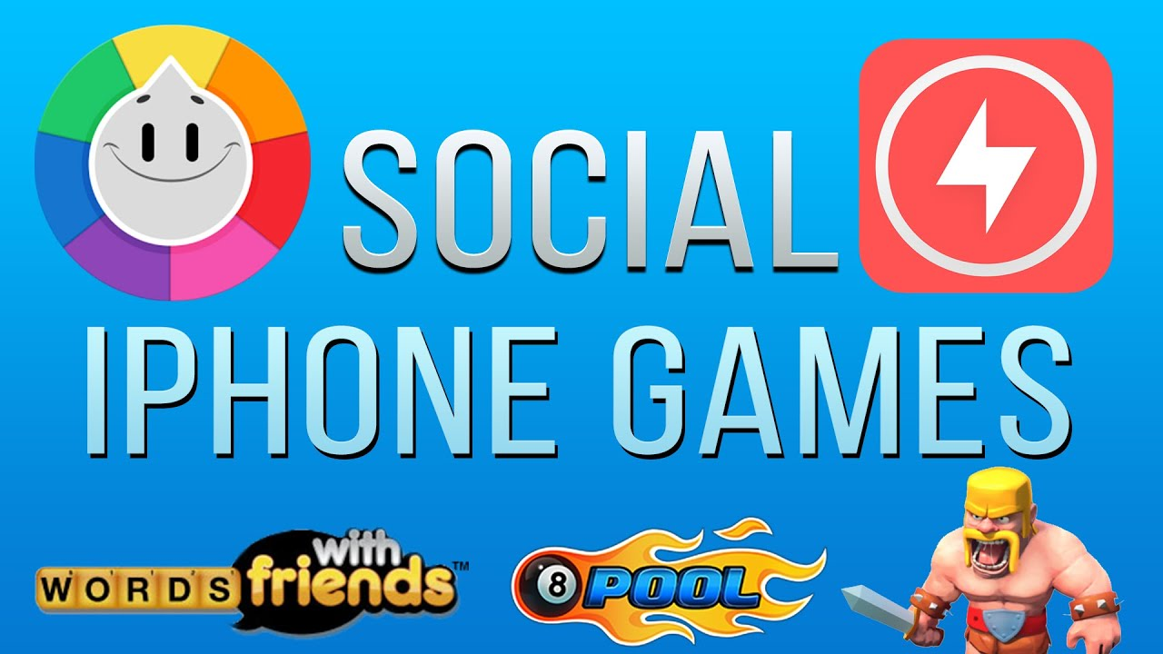 Best Social iPhone & iPad Games to Play with your Friends!