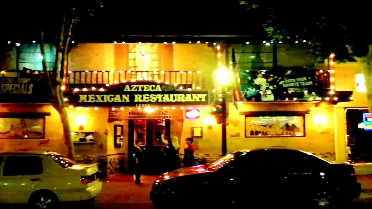 Azteca Mexican Restaurant In Garden Grove Ca Exterior Youtube